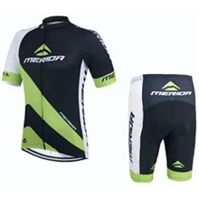 2015 Merida Black Cycling Jersey Short Sleeve Maillot Ciclismo and Cycling Shorts Cycling Kits  cycle jerseys Ciclismo bicicletas maillot ciclismo