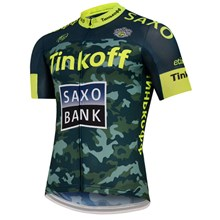 2015 TINKOFF SAXO BANK Fluo Cycling Jersey Ropa Ciclismo Short Sleeve Only Cycling Clothing  cycle jerseys Ciclismo bicicletas maillot ciclismo