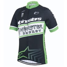 2015 Monster Cycling Jersey Ropa Ciclismo Short Sleeve Only Cycling Clothing  cycle jerseys Ciclismo bicicletas maillot ciclismo