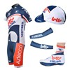 2012 lotto Cycling Jersey+bibShorts+Shoe Covers+Glove+Arm sleeve S
