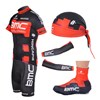 2012 bmc Cycling Jersey+bib Shorts+Shoe Covers+Arm Sleeves+Headscarf S