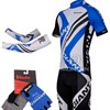 2012 GIANT Cycling Jersey and bib Shorts and Glove and Armsleeve S
