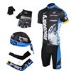 2007 discovery Cycling Jersey+Shorts+Headscarf+Glove+Arm sleeve