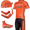 2012 euskaltel euskadi Cycling Jersey+Shorts+Shoe Covers+Arm Sleeves+Headscarf S