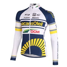 2012 vacansoleil Cycling Jersey Long Sleeve Only