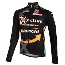 2012 bianchi Cycling Jersey Long Sleeve Only