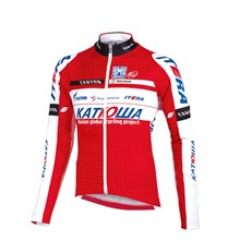 2012 katusha Cycling Jersey Long Sleeve Only