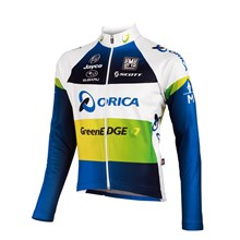 2012 greenedge Cycling Jersey Long Sleeve Only