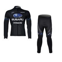 2012 subaru Cycling Jersey Long Sleeve and Cycling Pants