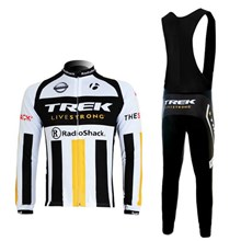 2012 trek Cycling Jersey Long Sleeve and Cycling bib Pants