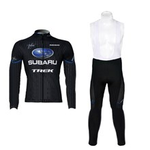 2012 subaru Cycling Jersey Long Sleeve and Cycling bib Pants