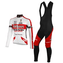 2012 rothaus Cycling Jersey Long Sleeve and Cycling bib Pants