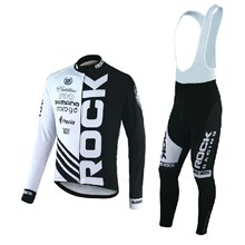 2012 rock-racing Cycling Jersey Long Sleeve and Cycling bib Pants