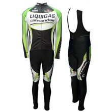2012 liquigas Cycling Jersey Long Sleeve and Cycling bib Pants