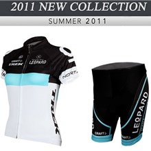2012 ringwise women's trek leopard Cycling Jersey Short Sleeve and Cycling Shorts Cycling Kits