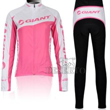 2012 women's giant pink Thermal Fleece Cycling Pants Only Cycling Clothing
