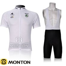 2012 Tour of France Cycling Jersey Short Sleeve and Cycling bib Shorts Cycling Kits Strap