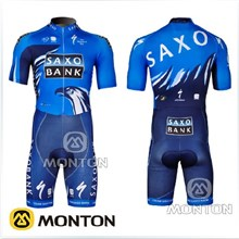 2012 Saxo Bank Cycling Skinsuit