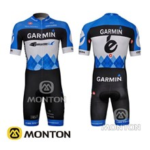 2012 Garmin Cycling Skinsuit