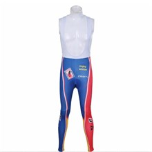 2012 subaru red yellow blue Cycling bib Pants Only Cycling Clothing