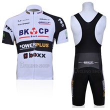 2012 bkcp Cycling Jersey Short Sleeve and Cycling bib Shorts Cycling Kits Strap S