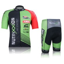 2012 Nutrixxion Cycling Jersey Short Sleeve and Cycling Shorts Cycling Kits S