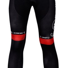 2012 radio shack red Thermal Fleece Cycling Pants Only Cycling Clothing S
