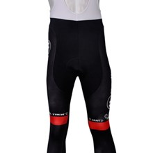 2012 radioshack Thermal Fleece Cycling bib Pants Only Cycling Clothing S