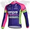 2014 Lampre Cycling Jersey Long Sleeve Only Cycling Clothing S