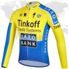 2014 SAXO BANK Cycling Jersey Long Sleeve Only Cycling Clothing S