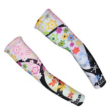 2014  Women Tree leaf Cycling Warmer Arm Sleeves bicycle sportswear mtb racing ciclismo men bycicle tights bike clothing