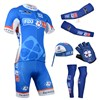 2014 fdj fr Cycling Jersey Maillot Ciclismo Short Sleeve and Cycling bib Shorts Or Shorts and Scarf and Arm Sleeve and Gloves and Leg Sleeve Tour De France