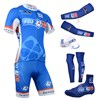 2014 fdj fr Cycling Jersey Maillot Ciclismo Short Sleeve and Cycling bib Shorts Or Shorts and Cap and Arm Sleeve and Leg Sleeve and Shoe Cover Tour De France XXS