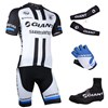 2014 giant Cycling Jersey Maillot Ciclismo Short Sleeve and Cycling bib Shorts Or Shorts and Shoe Cover and Arm Sleeve and Leg Sleeve Tour De France XXS