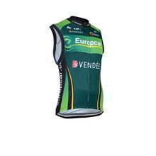 2014 Europcar Cycling Vest Jersey Sleeveless Ropa Ciclismo Only Cycling Clothing  cycle jerseys Ciclismo bicicletas maillot ciclismo  cycle jerseys XXS