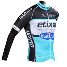 2015 Quick step Cycling Jersey Long Sleeve Only Cycling Clothing cycle jerseys Ropa Ciclismo bicicletas maillot ciclismo