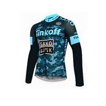 2015 Saxo bank tinkoff Cycling Jersey Long Sleeve Only Cycling Clothing cycle jerseys Ropa Ciclismo bicicletas maillot ciclismo