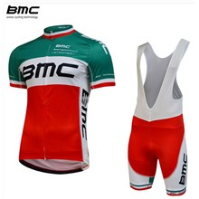 2015 BMC Cycling Jersey Maillot Ciclismo Short Sleeve and Cycling bib Shorts Cycling Kits Strap cycle jerseys Ciclismo bicicletas maillot ciclismo