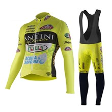 2015 Vini fantini Cycling Jersey Long Sleeve and Cycling bib Pants Cycling Kits Strap