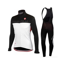 2015 Castelli gabba, Alpha, Poggio, Mortirolo Cycling Jersey Long Sleeve and Cycling bib Pants Cycling Kits Strap