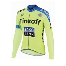 2015 Saxo bank Tionkff Cycling Jersey Long Sleeve Only Cycling Clothing cycle jerseys Ropa Ciclismo bicicletas maillot ciclismo