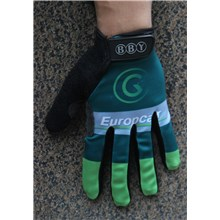 2016 Europcar Cycling Thermal Fleece Glove Long Finger bicycle sportswear mtb racing ciclismo men bycicle tights bike clothing M