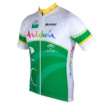 2015 ANDALUCIA Cycling Jersey Ropa Ciclismo Short Sleeve Only Cycling Clothing cycle jerseys Ciclismo bicicletas maillot ciclismo XXS