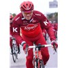2017 Katusha Cycling Jersey Long Sleeve and Cycling bib Pants Cycling Kits Strap XXS