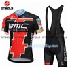 2018 BMC GOLD Cycling Jersey Maillot Ciclismo Short Sleeve and Cycling bib Shorts Cycling Kits Strap cycle jerseys Ciclismo bicicletas S