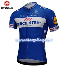 2018 QUICK STEP Cycling Jersey Ropa Ciclismo Short Sleeve Only Cycling Clothing cycle jerseys Ciclismo bicicletas maillot ciclismo S