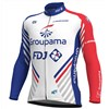 2018 Groupama FDJ PRS Cycling Jersey Long Sleeve Only Cycling Clothing cycle jerseys Ropa Ciclismo bicicletas maillot ciclismo XS