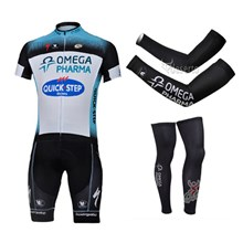 2013 quick-step Cycling Jersey+Shorts+Arm sleeves+Leg sleeves