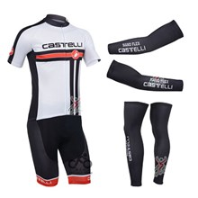 2013 castelli Cycling Jersey+Shorts+Arm sleeves+Leg sleeves