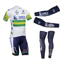 2013 greenedge Cycling Jersey+Shorts+Arm sleeves+Leg sleeves